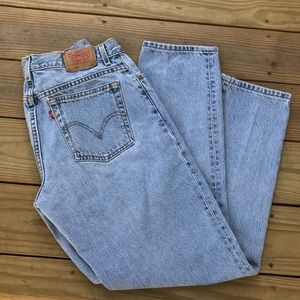 Levi's 550 classic relaxed fit  High Rise Jeans